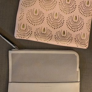FRENCH CONNECTION pink clutch purse bundle